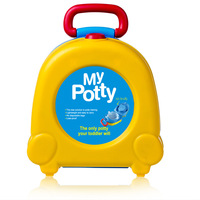 Baby Toilet Cute Travel Baby Pot Car Potty Child Pot Training Girls Boy Potty Kids Child