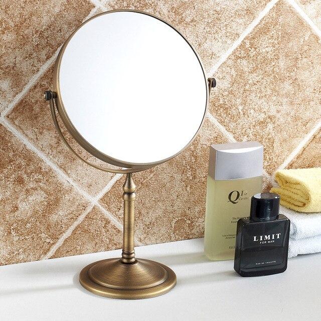 Antieke badkamer spiegel cosmetische spiegel koper badkamer spiegel ...