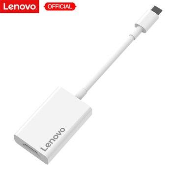 Lenovo оригинальный type-C до HD концентратор адаптер USB концентратор 3,0 конвертеры кабель 4 К к для ПК MacBook компьютер ноутбук планшет Windows ноутбуки