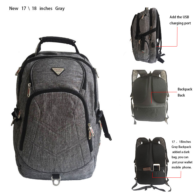 Freebiz 18.4 Inches Laptop Backpack Fits Up To 18 Inch Gaming Laptops For Dell, Asus, Msi,hp #6