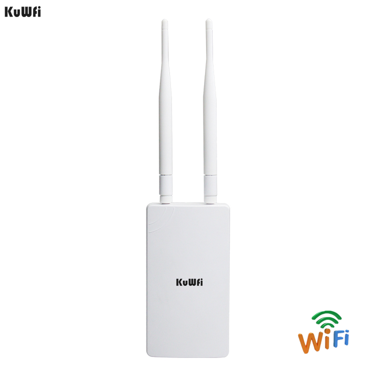 KuWFi 300Mbps Wireless Router Coverage 1 2km Wireless Outdoor CPE Router Wifi Repeater Network Bridge Access
