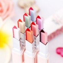 дешево!  1 шт. Двойной градиент губная помада блеск для губ макияж корейский эффект двухцветная губная помада