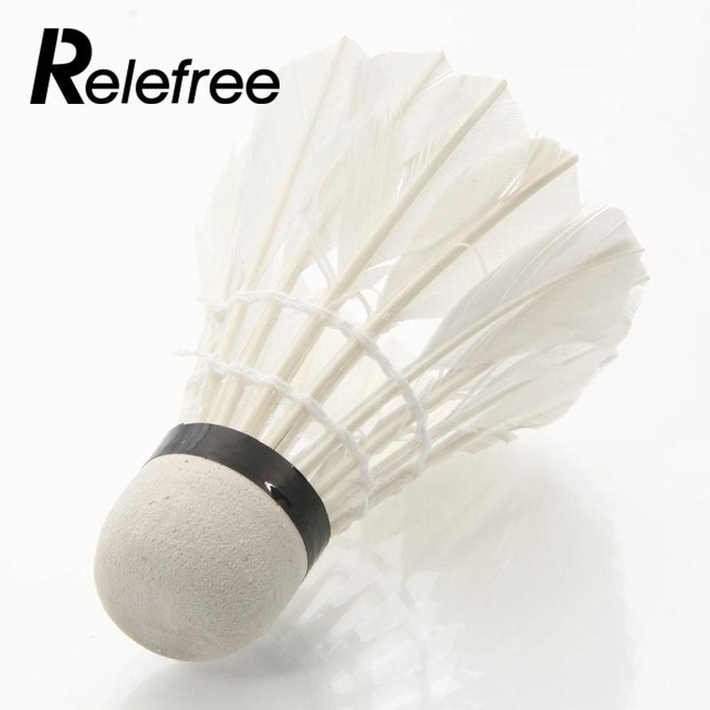 1 шт. красочные Пластик Гусь feathershuttlecocks Бадминтон игра с мячом Спортивная Для женщин человек открытый