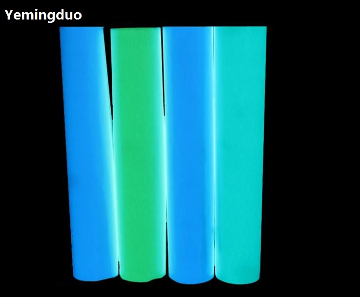 Reflective Material Latest Collection Of Flash Deal Colorful Reflective Tapes Glow Self-adhesive Sticker Luminous Fluorescent Glowing Tapes Dark Striking Warning Tape Profit Small