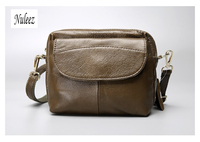 Nuleez Brand Foreign Trade Genuine Leather Women Cross Body Bag Classic Light Cowhide Bag Lowest Price