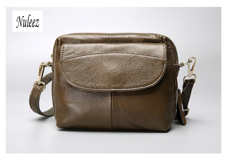 7e6865861961 Nuleez Brand foreign trade genuine leather women cross body bag classic  light cowhide bag lowest price