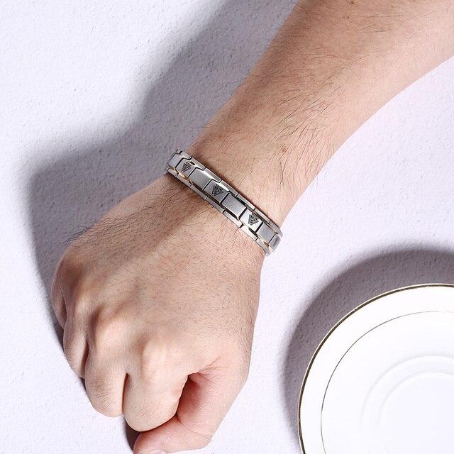 Bracelet Viking Rune magnétique thérapie  2