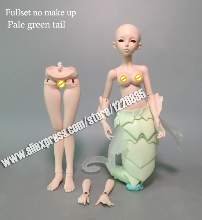 HeHeBJD free shipping 1/4 bjd  Sia human and  Sia(Seahorse) free eyes-in Dolls from Toys & Hobbies    1