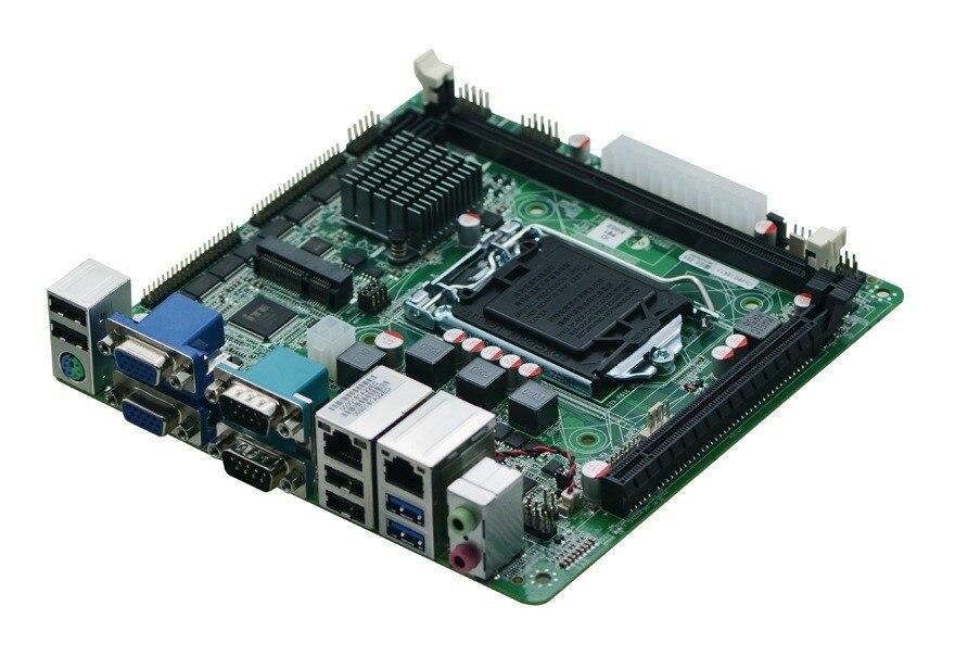 LGA1150 разъем i7 промышленных материнская плата мини поддержка itx Core i3/i5/i7 Pentium 22nm/32nm Процессор с 10 * USB/10 * COM 1 * PCIE3.0 X16