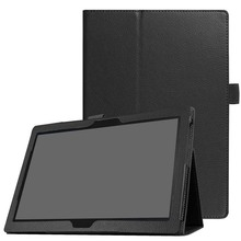 цены на cover For Lenovo Tab4 10.0 TB-X304F/N tablet Tab4 10 inch Protective Bag Flip PU Leather Book case Tablet Stand Cover  в интернет-магазинах