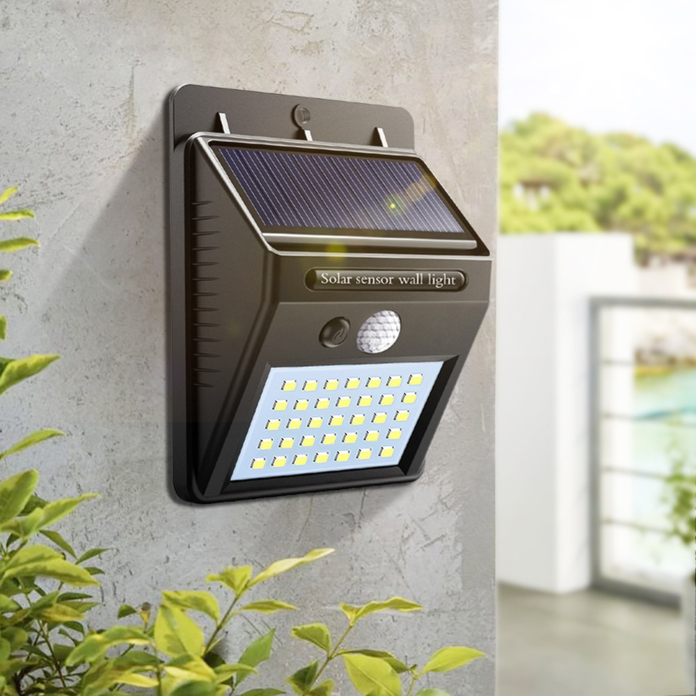 Us 5 99 30 Off Motion Sensor Led Solar Path Lamp Wall Light Outdoor Lighting Garden Waterproof Porch Street Security Sunlight In