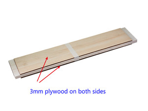 Image 5 - AAA+ Balsa Wood Sheet ply 500mm long 100mm wide 1/1.5/2/3/4/5/6/8/10mm thick for airplane/boat model DIY