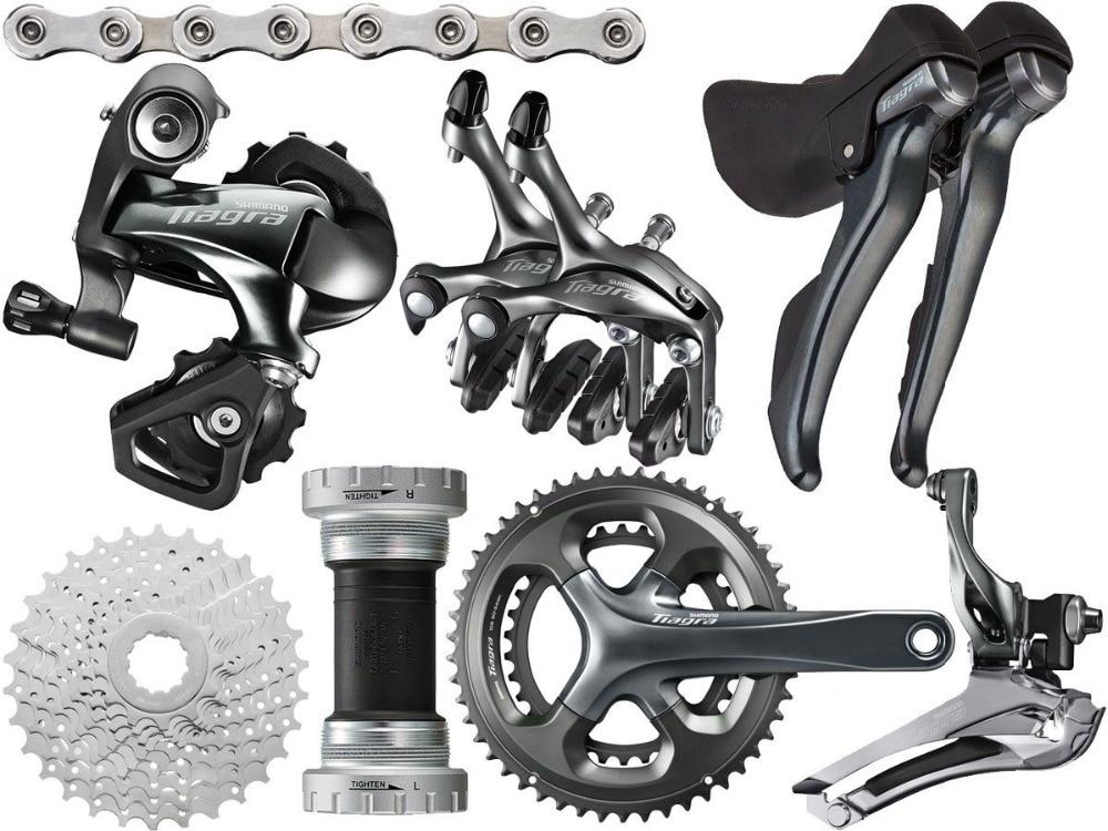 Groupe de vélo de route Shimano Tiagra 4700 groupe 2x10-speed 170/172. 5mm 52-36/50-34