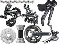 Produkty  takie jak Shimano Tiagra 4700 rower szosowy rower grupa 2x10 speed 170/172. 5mm 52 36/50 34 w Korby i zębatki rowerowe od Sport i rozrywka na