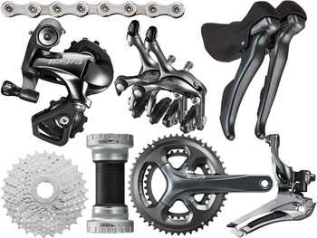 Shimano Tiagra 4700 Road bike bicycle Groupset Group 2x10-speed 170/172.5mm 52-36/50-34 - DISCOUNT ITEM  27% OFF All Category