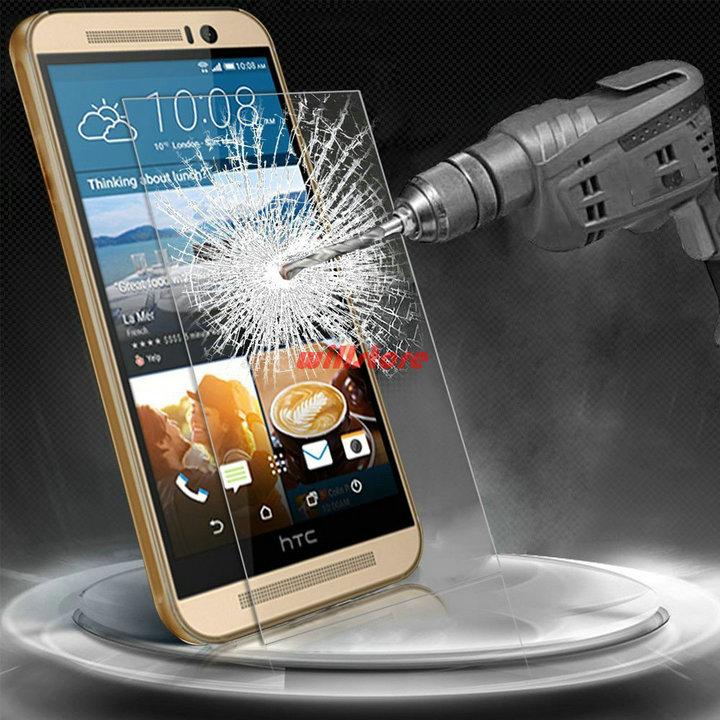 Temperli Şüşə Ekran Qoruyucu qoruyucu film CASE For HTC Desire - Cib telefonu aksesuarları və hissələri - Fotoqrafiya 2