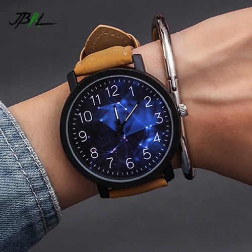 星空ファッション腕時計メンズ腕時計クォーツ腕時計男性時計男性腕時計時間 Reloges Hodinky レロジオ Masculino