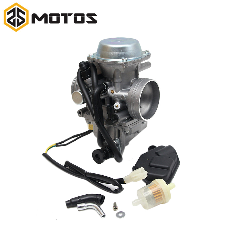 ZS MOTOS PD32J 32MM Motorcycle Carburetor Carb for Kawasaki ATV KLF300 Bayou 300 for <font><b>Honda</b></font> <font><b>TRX</b></font> <font><b>400</b></font> <font><b>Foreman</b></font> image