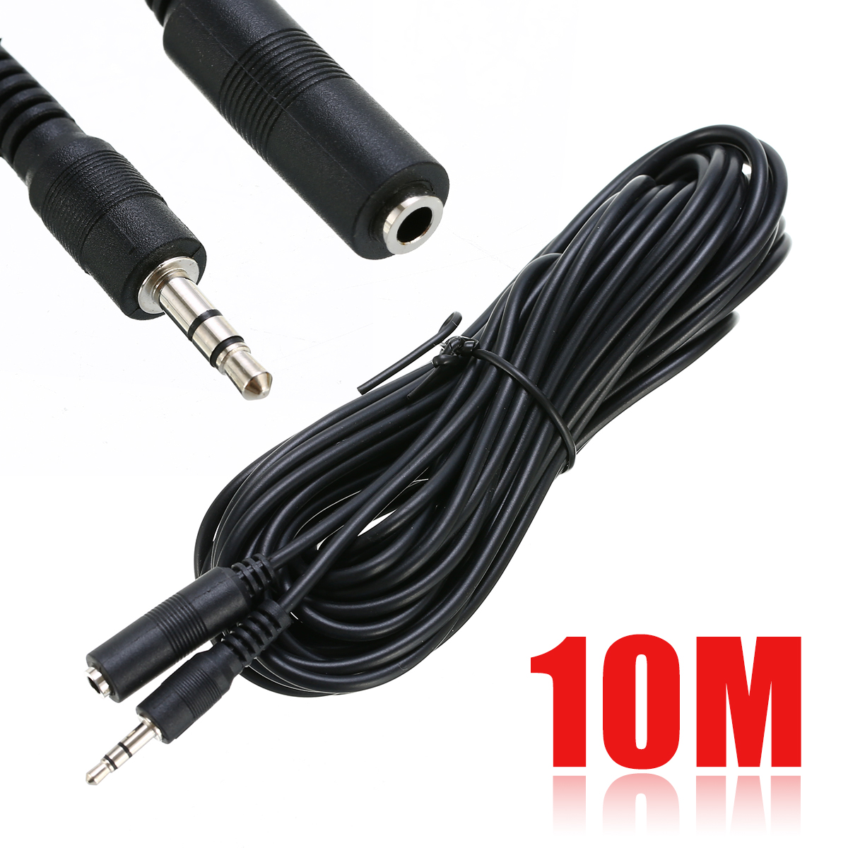 Mayitr Infrared Receiver Extender Cable IR Repeater Extension Cable Extender Wire 10M 3.5mm Plug Headphone Cable