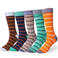 50 Pieces Pack Cushion Comfort Crew Men Women Socks