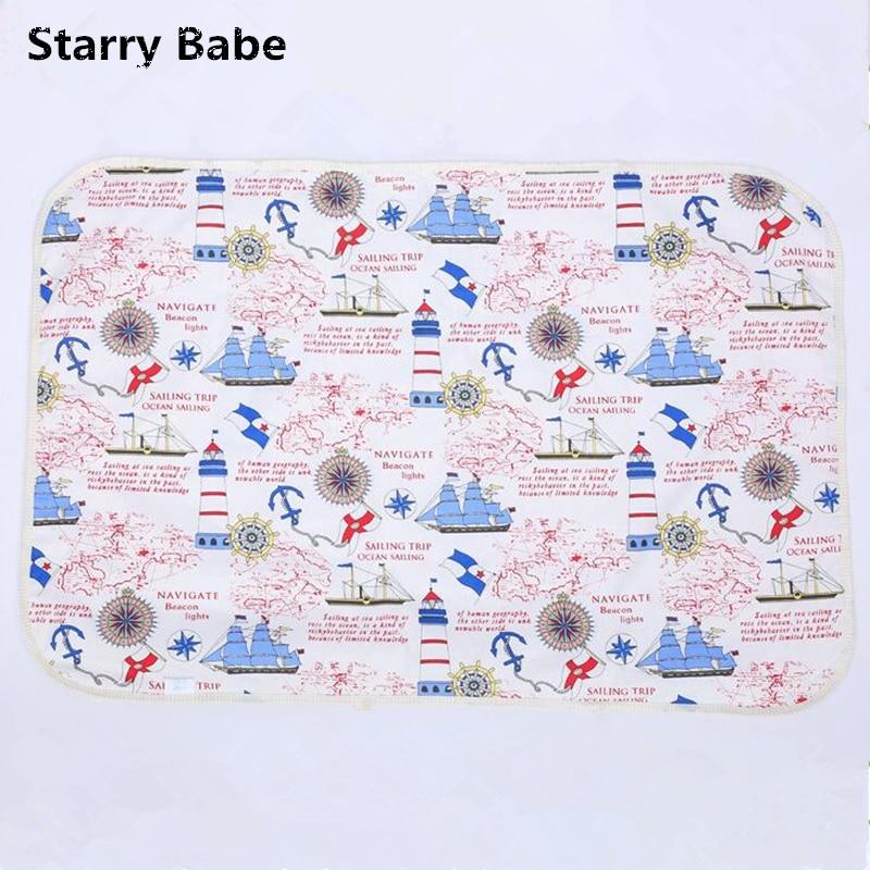 9 rodzajów kreskówek wzory wodoodporny materac dla niemowląt - Pieluchy i Trenowanie toalety - Zdjęcie 2