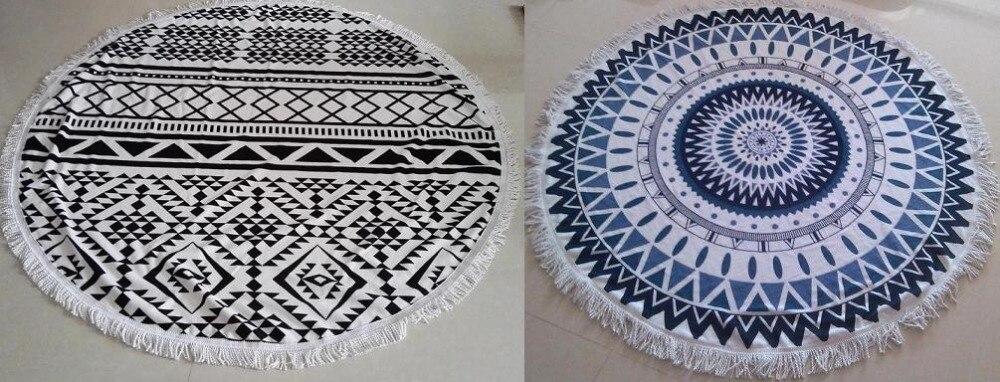 750gram-Summer-Large-Microfiber-Round-Beach-Towels-With-Tassel-Mandala-Tapestry-toalha-de-praia-Beach-Picnic (3)