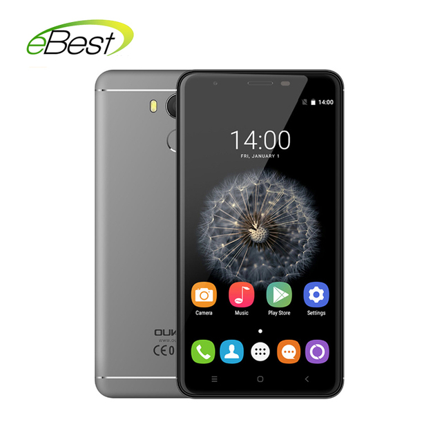Original Oukitel U15 Pro 4G FDD LTE Android Mobile phone 5.5 Inch 3GB RAM 32GB ROM MT6753 Octa Core Dual SIM Card fingerprint