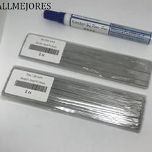 ALLMEJORES Solar Tab провод 20 метров 1,2 мм x 0,25 мм+ 2 м 5 мм x 0,2 мм дает 1 шт. флюсовая ручка бесплатно. Солнечная панель паяльная лента Большая распродажа