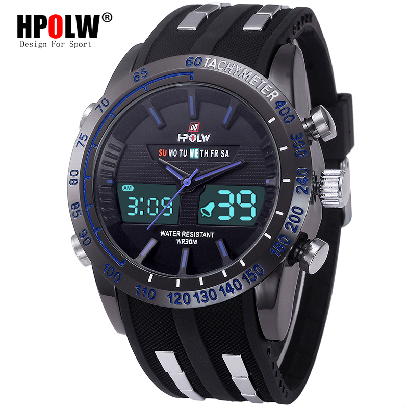 HPOLW Sport Watch Men Diving Camping Waterproof Clock For Mens Watches Top Brand Luxury Military relogio masculino montreHPOLW Sport Watch Men Diving Camping Waterproof Clock For Mens Watches Top Brand Luxury Military relogio masculino montre