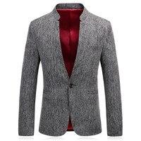 Adam Takım Elbise Iş Resmi Uzun Kollu Casual Erkek Blazer Ince Fit erkek Pamuk Beyefendi Marka Erkek Ceket Takım Elbise Artı Boyutu X132