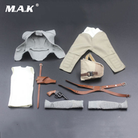 1 6 Scale Star Wars The Force Awakens Rey Clothes Costume Outfit Model Set For 12