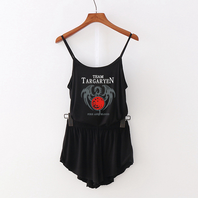 Game of thrones Camisole two piece set 5