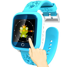 TURNMEON GPS Smart Kid Safe smart Watch SOS Call Location Finder Locator Tracker for Child Anti Lost Monitor Baby Son waterproof
