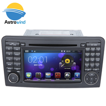 Pure android 5.1 Car Stereo Media System Auto Radio For Mercedes-Benz GL Class X164, for Mercedes-Benz ML Class W164