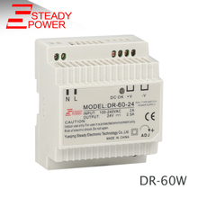 ФОТО 60w 24v din rail smps 24 volt  2.5a  ac to dc switch power supply  dr-60-24