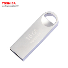 TOSHIBA USB flash drive 16GB USB2.0 TransMemory-Mini USB flash drives quality Memory Stick 16G usb Pen Drive Free shipping