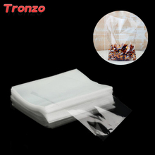 Tronzo 100pcs Cellophane Transparent