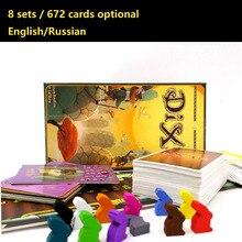 Диксит настольная игра 8 расширений 672 карт дополнительно MTG английский и русский карточная игра для семьи детей Magic