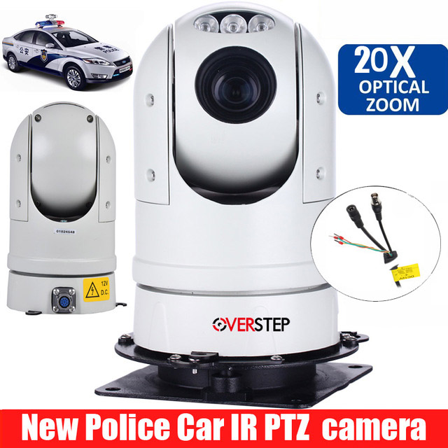Dome Outdoor Waterproof CVI PTZ speed dome camera ptz camera for police car image