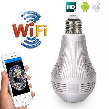 960P Wireless IP Camera Wifi 960P Panoramic Fishye Home Security Surveillance CCTV Camera 360 Degree Night Vision Baby Monitor