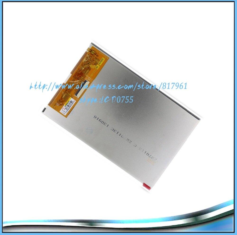 7inch LCD display screen matrix for PRESTIGIO MULTIPAD PMP5670C Duo tablet accessoriesFREE SHIPPING
