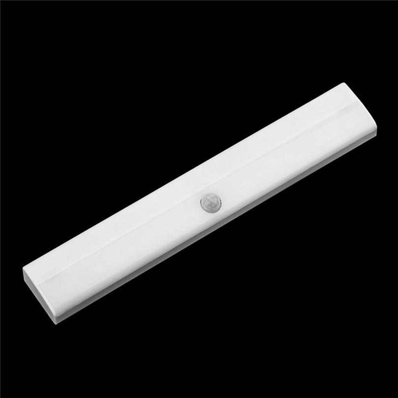 1pc LED Cabinet Closet Light PIR Motion Sensor Lamp Led Bulbs White Bright Under Cabinet Lights High Quality new #3J01 (6)
