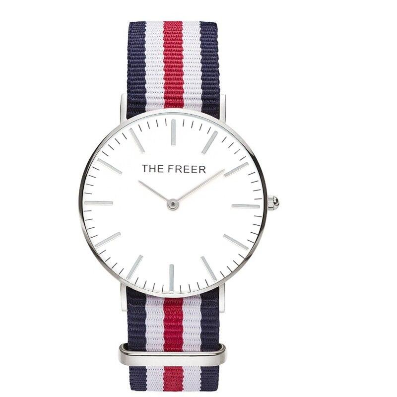 Ladies Quartz Watches Women Fashion DW style Watch Brand Nylon band Dress Sports Wristwatch Relogio Feminino