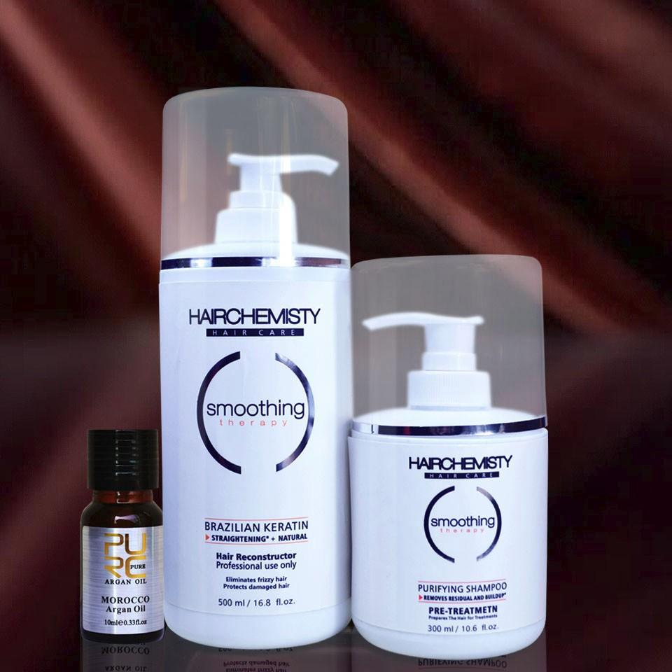 shampoo and keratin 8% 500ml
