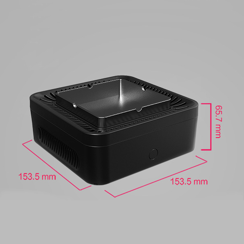 Nobico Ashtray Air Purifier Negative Ion Generator Built in Lithium Battery Desktop Air Ionizer Compact Air Cleaner for Smoker-in Air Purifiers from Home Appliances    3