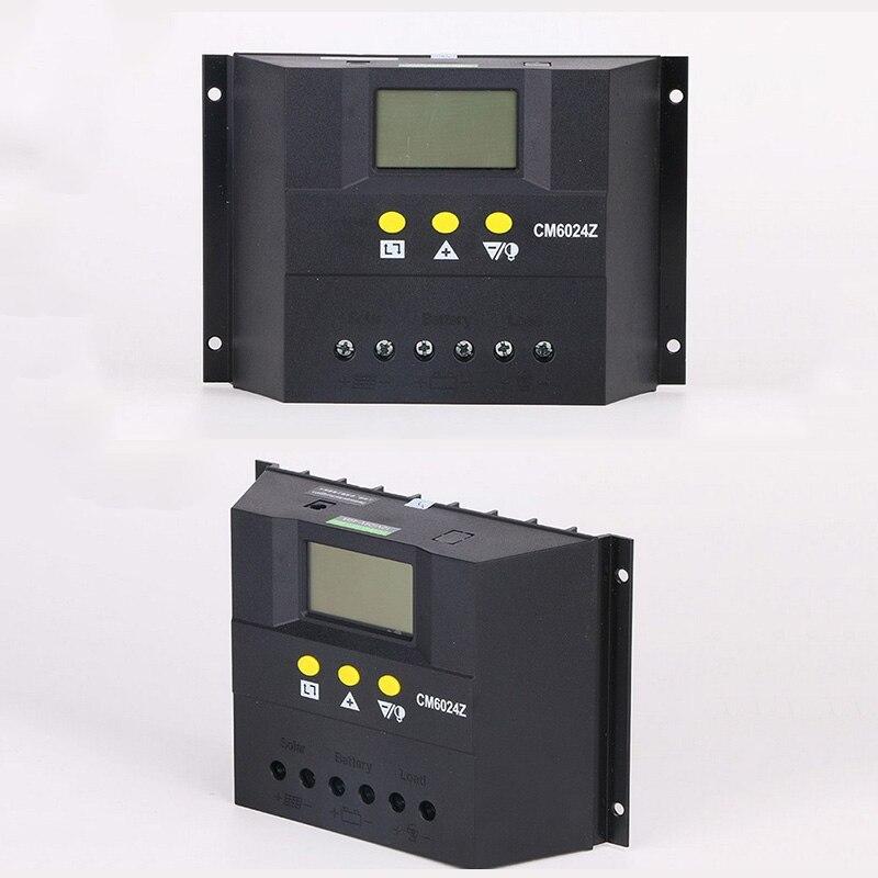 цена на 50A 60A 12V 24V 48V Solar Panel Charge Controller LCD Regulator Smart Solar Household System Controller Solar Charge Controller