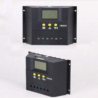 50a 60a 12 v 24 v 48 v 솔라 패널 충전 컨트롤러 lcd 레귤레이터 스마트 솔라 가정용 시스템 컨트롤러 솔라 충전 컨트롤러