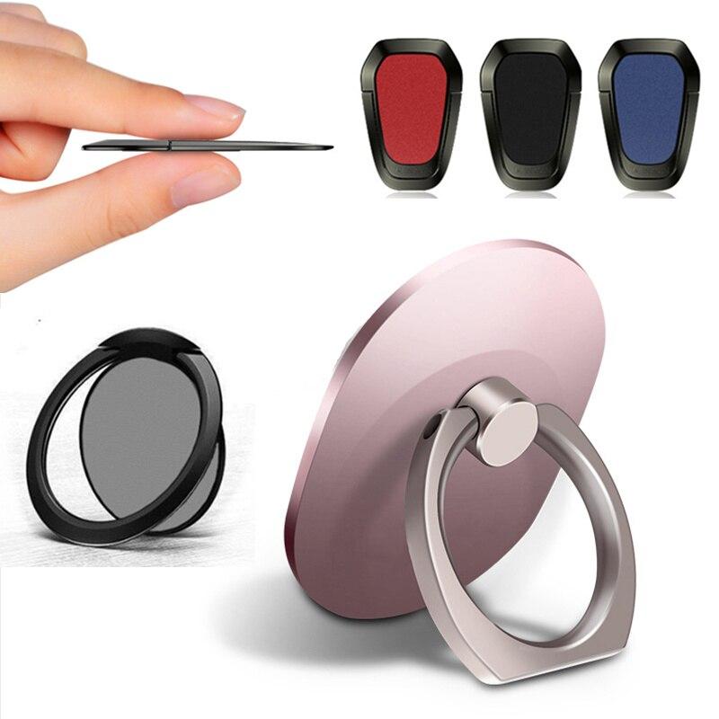 Anillo de dedo de teléfono móvil teléfono inteligente soporte titular para iPhone X MAX 8 7 6 6 S Plus 5S teléfono inteligente MP3 teléfono anillo soporte