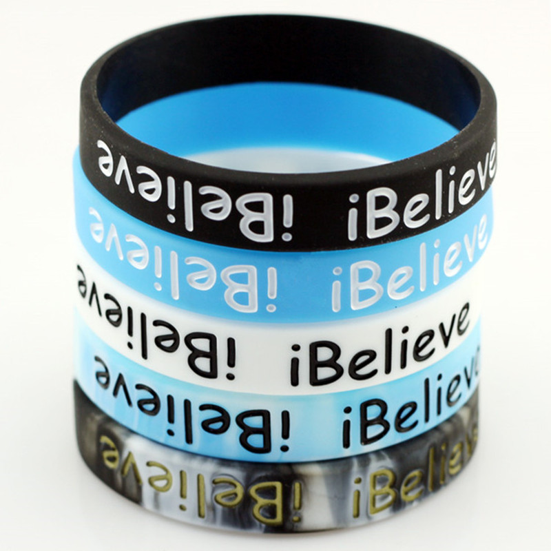 I Believe Kevin Durant Basketball Star Sport Silicone Rubber Bracelet Wristband Keychain Promise We Can