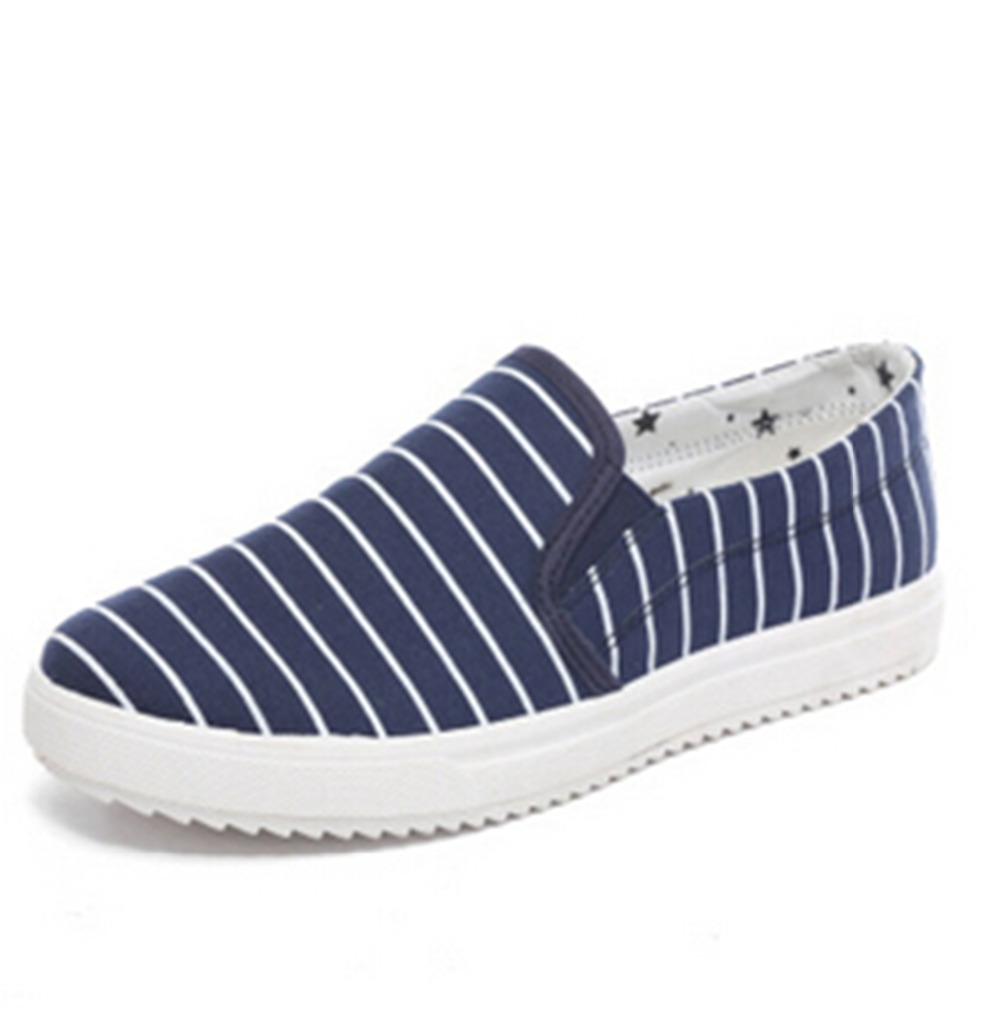 2016 Spring Women's Man Summer Shoes Summer New Striped Canvas shoes, flat-heel Plus Size 39~44 3 Color Fashion Flats  WDBZ-601 рубанок bosch pho 1500